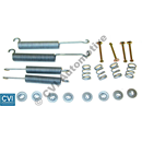 Fitting kit brake shoes, Girling B20 (w. return springs for shoes)   (Q504)