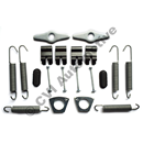 Fitting kit WITH return springs 544/210 '59-, 121 rear 59-64 +122/1800 USA '68 rear  (GENUINE!)