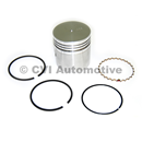 Piston with rings, B4B (+030)