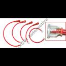 Ignition lead set, B16/B18 (Bosch straight plug caps) (OE style - also fits B20)