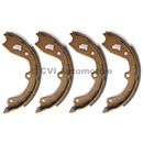 Handbrake shoe set, 1972-74 (142/144/145/164/1800E/ES)