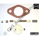 Throttle spindle/disc kit, Zenith 36VN