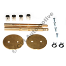 Throttle spindle kit, for 2 x SU HS6