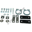 Fitting kit rear silencer, 544