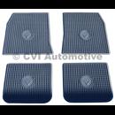 Accessory floor mat set Amazon (grey rubber)