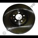 "Brake disc front 17.5"" XC90 (336 mm)"