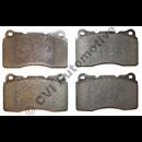 Brake pad set front, S60R/V70R  (ATE) ch nr  466813-/500355-