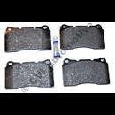 Brake pad set front S60R/V70R -ch no 466812/500354 (Volvo OE)