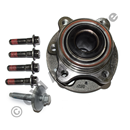 Front hub bearing, XC90 Sept 2006-2014 (SKF) ch 355741- (with exceptions)
