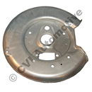 Brake backplate rear, 850/S70/V70 RH (2WD - 1992-2000)