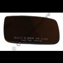 Mirror glass heatd 88-92 LHD R 240 89-91, 700 88-91, 900 91