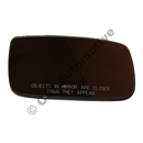 Spegelglas eluppv 88-91 LHD hö 240 89-91, 700 88-91, 900 91