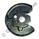 Brake backplate 240 front LH, ABS
