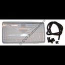 H/L glass 740 '90- LHD RH (no fog lamp)