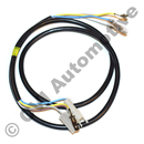 Tailgate wire harness 245/265 '85-'93, LH (for cars with extra brake light)