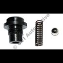 Non-return valve body/ball/spring, D type