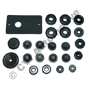 Grommet set bulkhead, Amazon 62-70