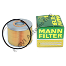 Oil filter element MANN for Volvo B16 engine