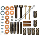 Shackle bolt kit rear springs, Duett