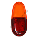 Taillamp lens PV544 (red/yellow)
