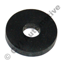 Rubber washer, various screws
