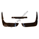 Rear bumper P1800 -'64 (Stainless steel - 3 sections)