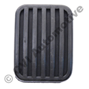 Pedal rubber, Amazon/P1800/240 (brake/clutch 1957-1993)