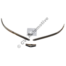 Bonnet front trim kit,  544/210 (stainless steel)
