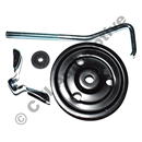 Fastener kit for spare wheel, P1800 64-69 (can also be used on earlier cars)