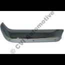 Bumper corner, P1800 rh front/lh rear '65-