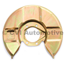 Disc backplate single-circuit LH (P1800/Amazon late '65-'68)