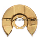 Disc backplate single-circuit RH (P1800/Amazon late '65-'68)