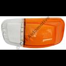 Blinkersglas fram, Amazon B18/B20 vä (klar/orange)