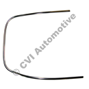 Rear screen trim P1800, LH
