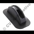 Handbrake lever gaiter, black (1965-1975) (Amazon/140/164)