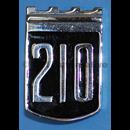 "Emblem ""210"", torped 1965-'69"