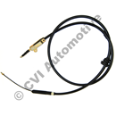Handbrake cable front, multi-link cars '88-'98 (760 & 900 series, - ch 54468)