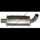 Middle silencer, 1800E/ES