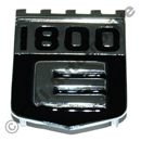 """1800E"" shield badge"