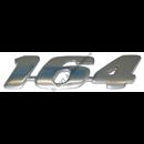 "Emblem ""164"", ch # 52790-"