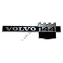 "Emblem ""Volvo 144"" on front wing (B20A 71-72)"
