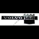 """Emblem """"Volvo 144"""" på skärm (B20A 71-72)"""