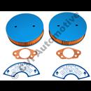 Luftfiltersats SUHS6 61-66 (2-bultsfilter) (Obs m. packningar & dekaler)
