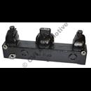 Exhaust manifold (AQ+BB115/AQ130)  (repro)