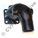 Exhaust bend, AQ95/100/110/200 +AQ130A/B/C/D    (cast iron)