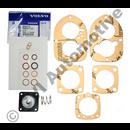 Diapghragm & gasket set, Solex 44 PA1