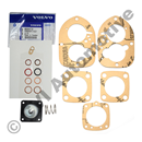 Membran-/packningsats Solex 44 PA1