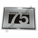 Emblem V70 2002 (Jubilee 75 years)