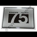 Emblem V70 2002 (Jubileum 75 år)