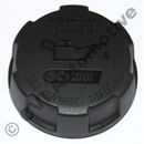 Oil filler cap 240 and onwards (plastic - see 421753 steel)